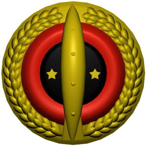 Dan Dare Cap Badge