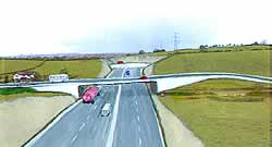 Possible look to the Link Road flyover