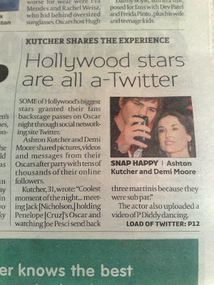londonpaper Hollywood stars Twitter