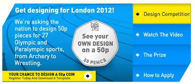 London 2012 50p coin design competition