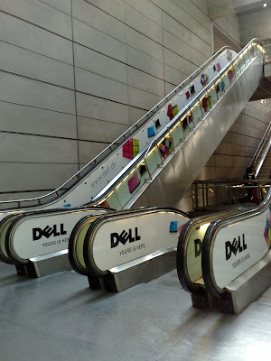 Dell Colour Match Norreport station escalators