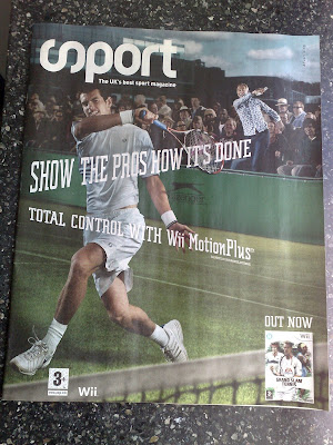 EA Grand Slam Tennis Sport Magazine cover