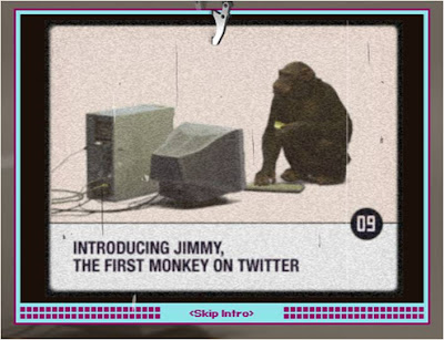 Jimmy the Twitter Monkey