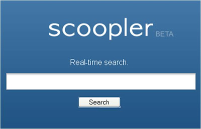 Scoopler homepage