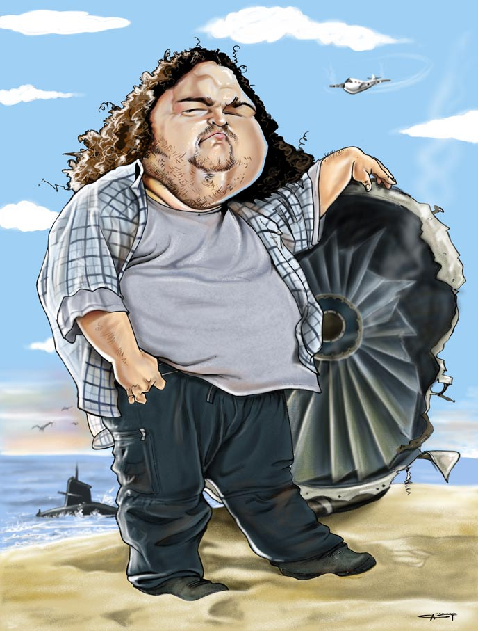 Resultado de imagen para caricatura de  Jorge García