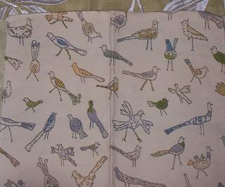 Robert Allen fabric For the Birds