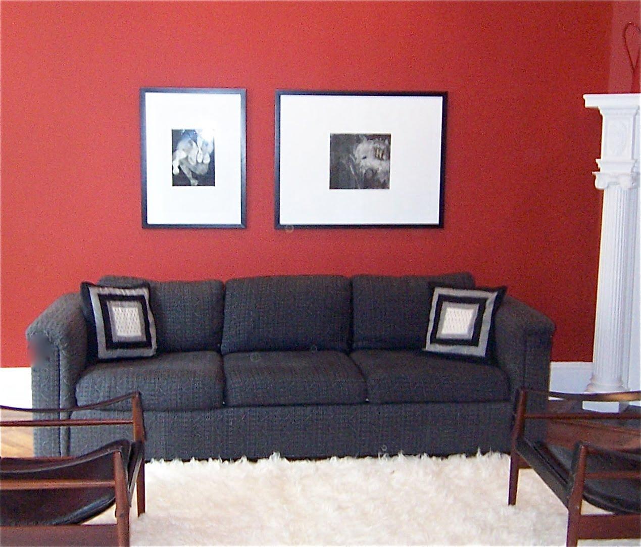 Bossy colors living room, Part 13: That big huge empty ...
