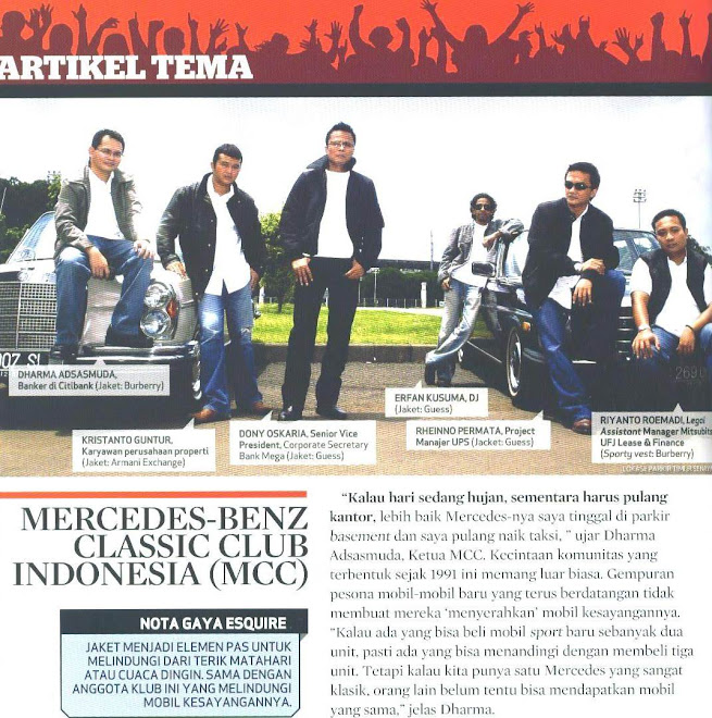 MCC in ESQUIRE edisi Maret 2008
