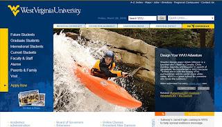 West Virginia University Homepage Feature...