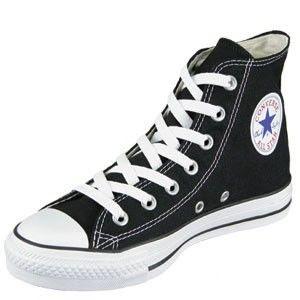 Black Chuck Taylor Tennis Shoes