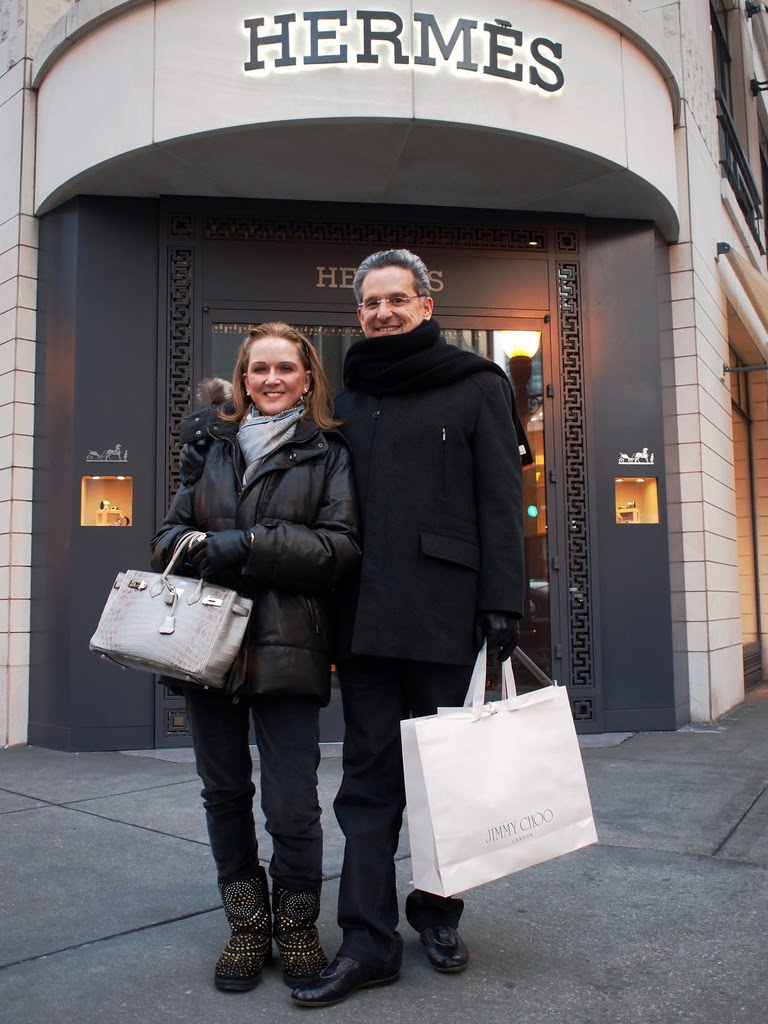 Handbag White Leather Prada