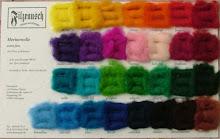 ecco un campione dei colori disponibili