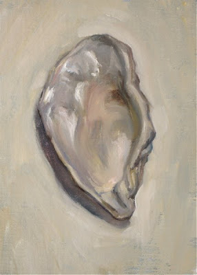 Paintings by Jason Waskey: Oyster Shell (