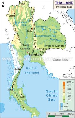 Gambar Negara Thailand Adalah Dunia Geografi Deskripsi Negara Thailand