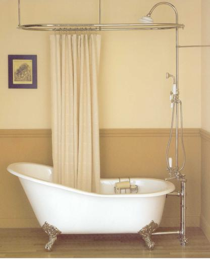 Smarte ressurser Fru Lunas Drømmefabrikk: Vintage Tub and Bath: badekar med HU-24