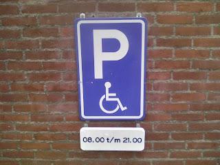 delft parkeren minder validen