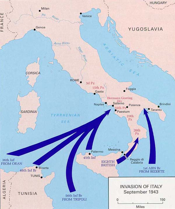~Lucy's~ to the Truth: World War II: Italian Campaign 1943 - 1944