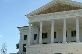 Vegetazione Villa Borghese Shapefile