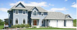 casas americanas arquitetando grandes