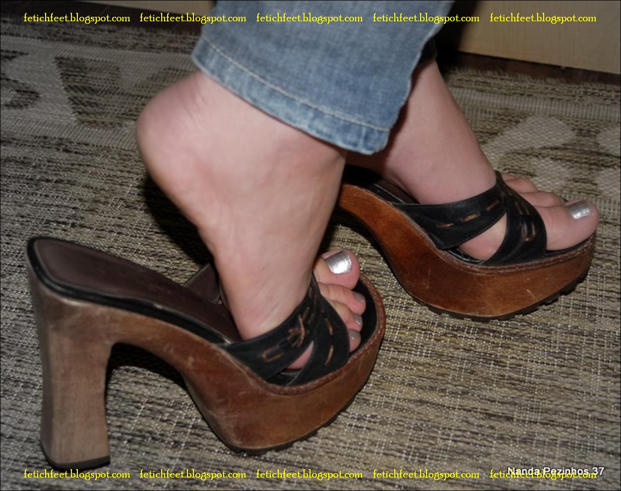 image Flip flop shoejob cum