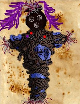 Ask Voodoo Mama: Is Burning a Voodoo doll bad?