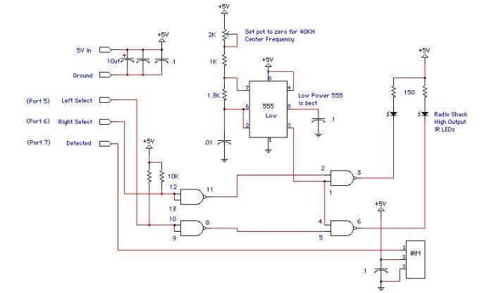 Simple Proximity Detector Circuit Based 555 Ir