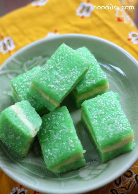 Sweet Sticky Rice Cake Recipe