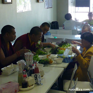 monks vegetarian