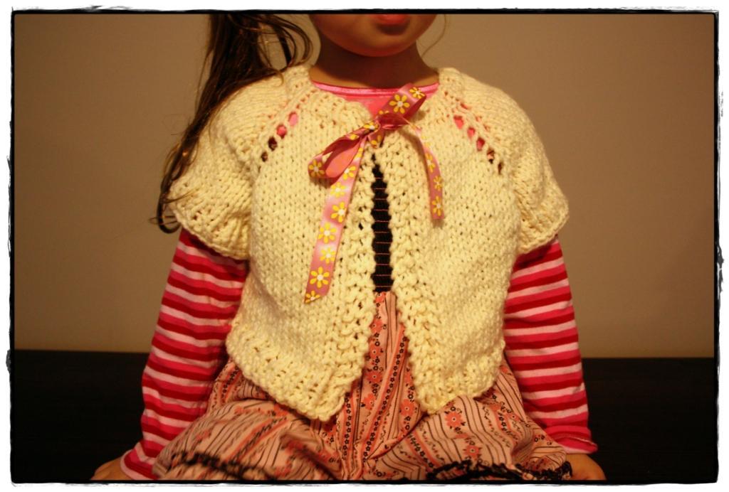 The Createry Shop: Easy Seamless Bolero Shrug (For Kids ...