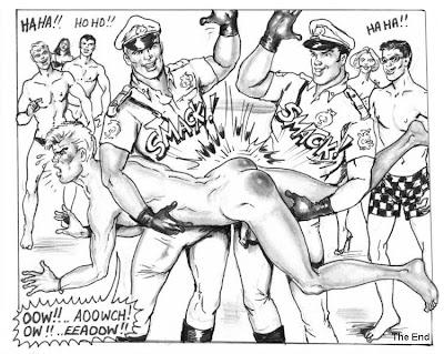 BDSM Vintage Cartoon Spank - dexhamstercom