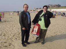 Rudi sr e Rudi jr...Egmond aan zee.