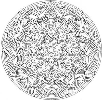 100 Pentru Copii Mandala Imagini De Colorat Pagina 6