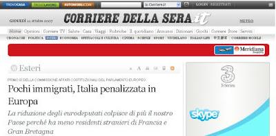 Il Corriere online