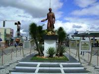 praça em homenagem ao célebre em SE