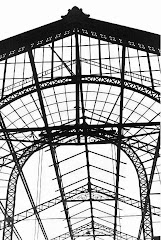 Structure démontée d'Abasto en 1985