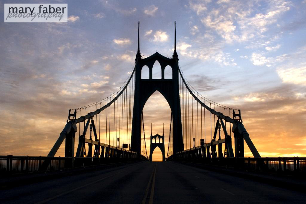 Mary Faber Photography: Fine Art Prints - St John's Bridge