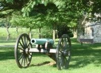 Monocacy National Battlefield, cannon. (Photo by CW Brown)
