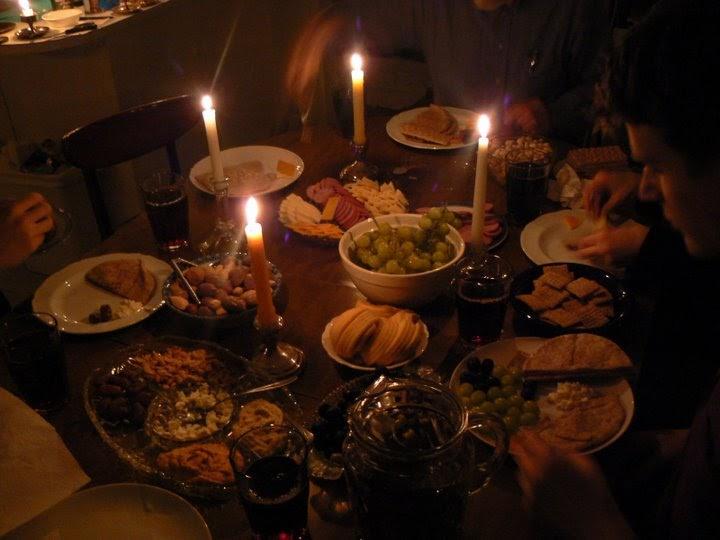 Having Fun At Home Journey To Bethlehem Dinner