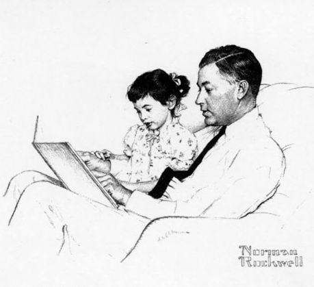 Having Fun at Home: Father's Day Tradition: Letter to Children