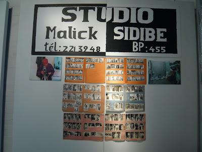 Malick Sidibe chemises