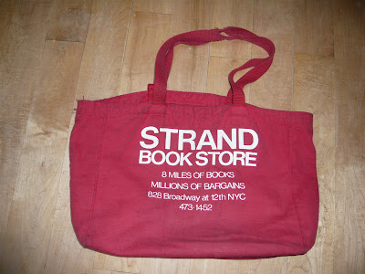 Strand Book Store tote