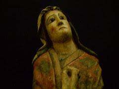 Virgen María, detalle