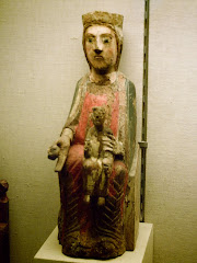 Virgen con Niño, románicos