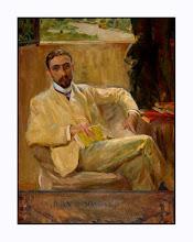Retrato de Juan Ramón Jiménez, pintado por Sorolla
