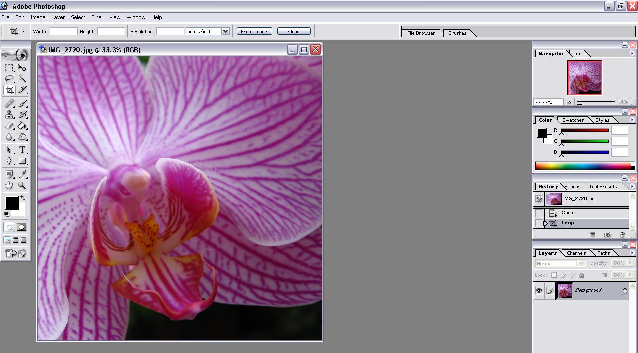 how to open layers in photoshop