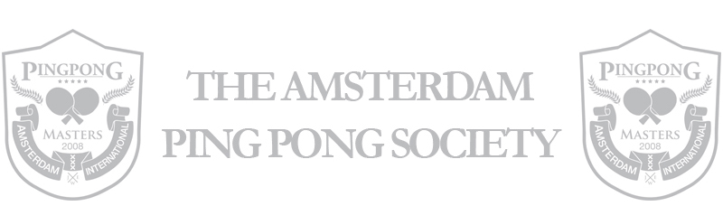 The Amsterdam Ping Pong Society