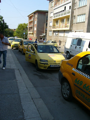 Unofficial Taxi Rank