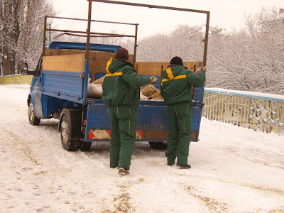Gritting the Snow