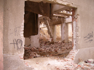 A Typical Yambol Demolition Site