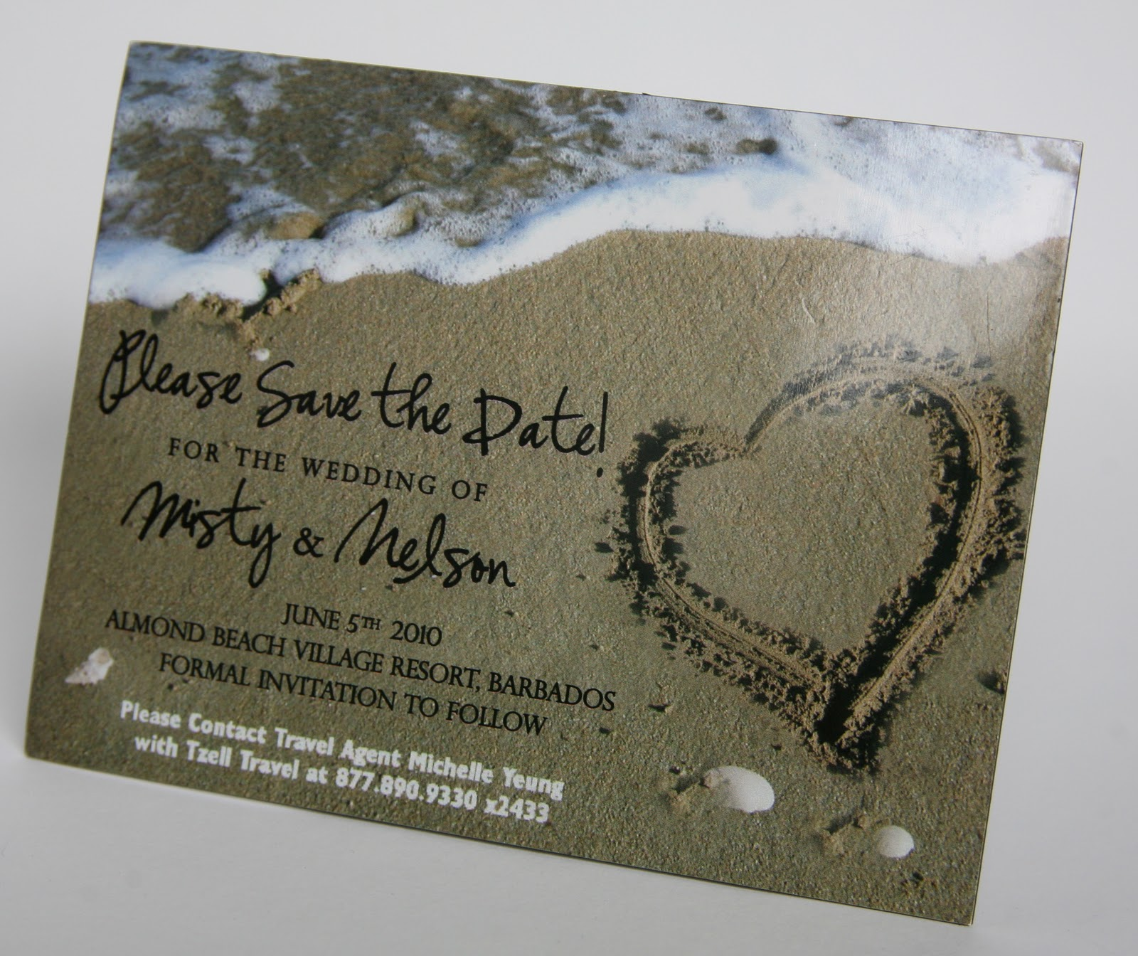 Save The Dates Baltimore Date Cards